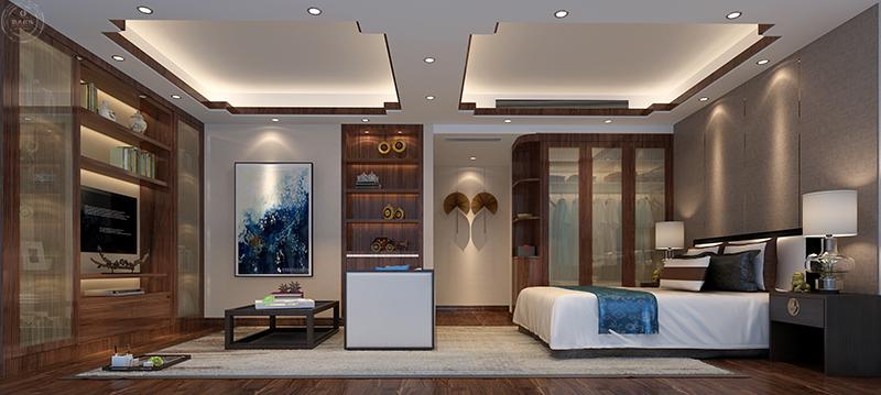 卧室图片来自深圳浩天装饰在浩天装饰-香格名苑的分享