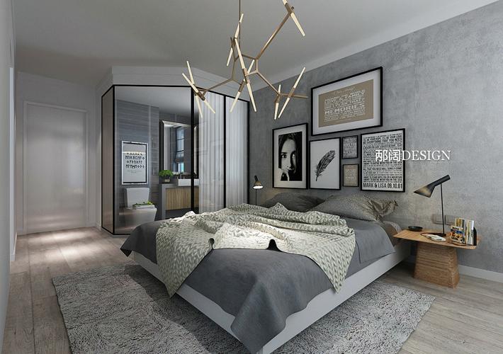 三居 浦江御景湾 混搭风格 卧室图片来自百家设计小刘在浦江御景湾136平混搭风格的分享