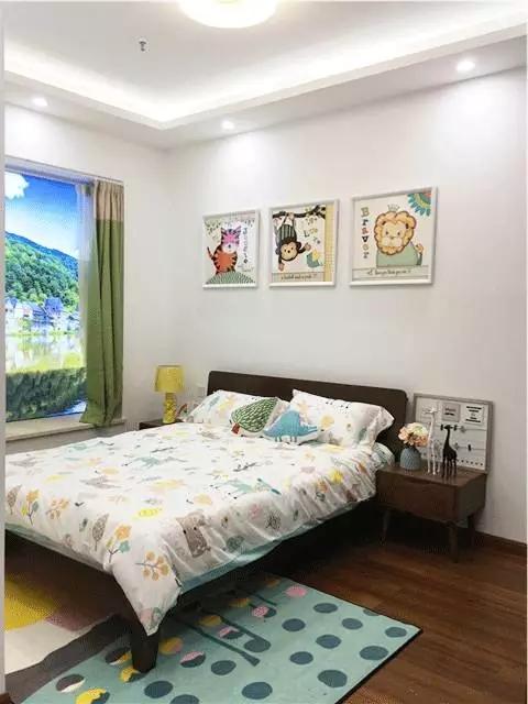简约 二居 三居 白领 收纳 80后 小资 儿童房图片来自金空间装饰集团在五矿万境蓝山 自然风的分享