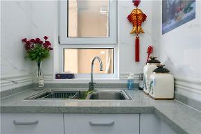 简约 欧式 田园 三居 白领 厨房图片来自金空间装饰集团在中海国际 简欧风的分享