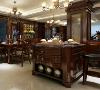 家化滨江大平层项目装修美式风格装修设计方案展示,上海腾龙别墅设计师刁振瑛作品,欢迎品鉴!
