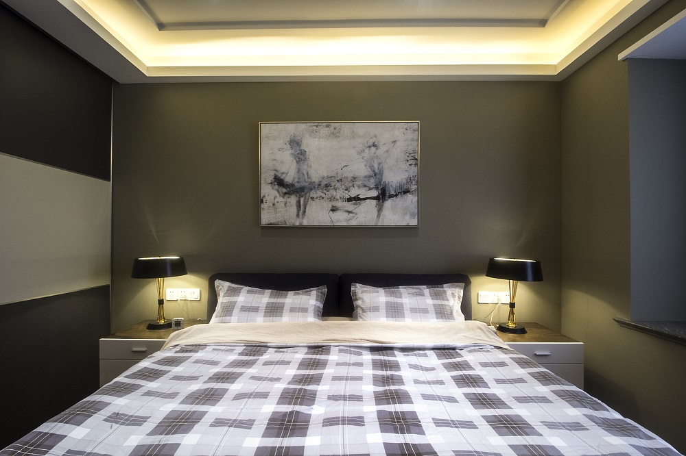 简约 小资 80后 卧室图片来自重庆优家馆装饰在大气装修-优家馆创造室内经典的分享