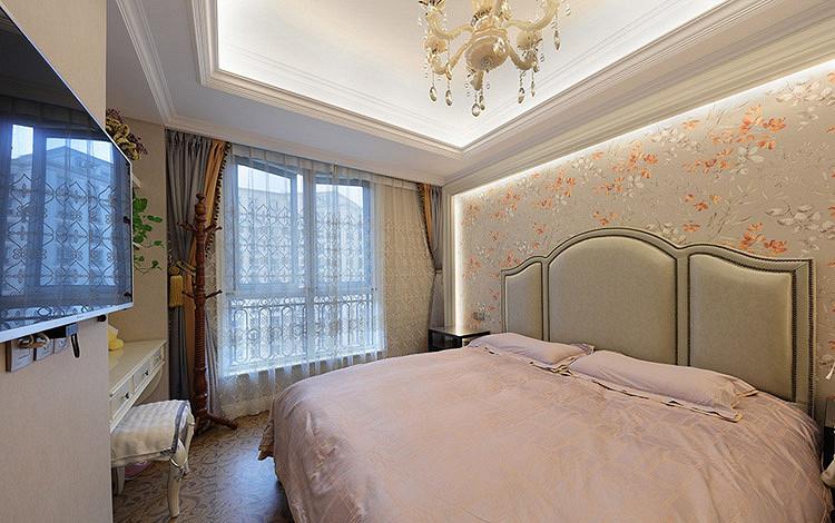 卧室图片来自家装大管家在时尚情怀 125平欧式古典雅致3居的分享