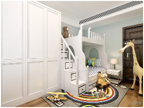 中式 新中式 三居 收纳 小资 儿童房图片来自阳光放扉er在力天装饰-德贤公馆-120㎡-中式的分享