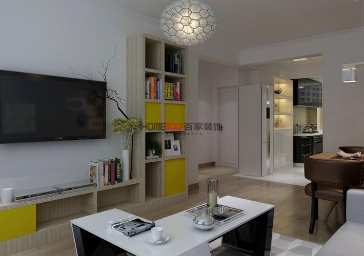 百家装饰 格林玫瑰湾 现代简约 客厅图片来自百家装饰--小莹在百家装饰-格林玫瑰湾 现代简约的分享