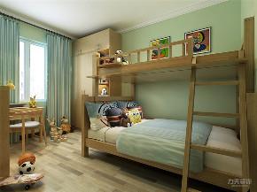 新中式 中式 二居 收纳 小资 儿童房图片来自阳光放扉er在力天装饰-富力又一城-111.08㎡的分享