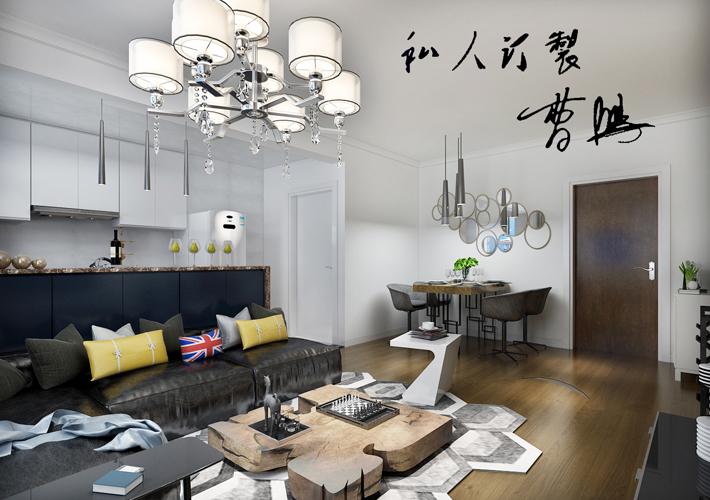 二居 魅力之城 北欧风格 客厅图片来自百家设计小刘在奉天九里125平简欧风格的分享