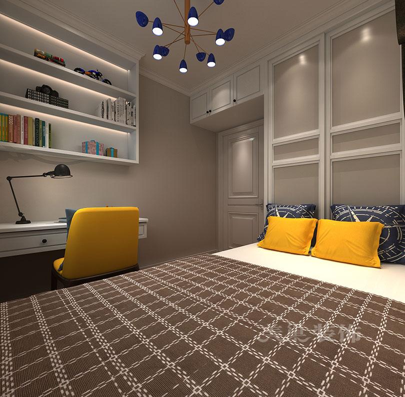 书房图片来自用户20000000803329在民安尚郡89平实用设计案例的分享