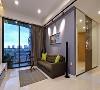 视野开阔的简约一居室公寓