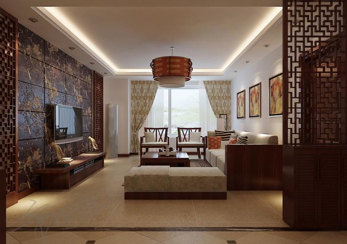 百家装饰 装修设计 保利大都会 沈阳装修 客厅图片来自百家装饰--小莹在百家装饰-保利大都会 中式风格的分享