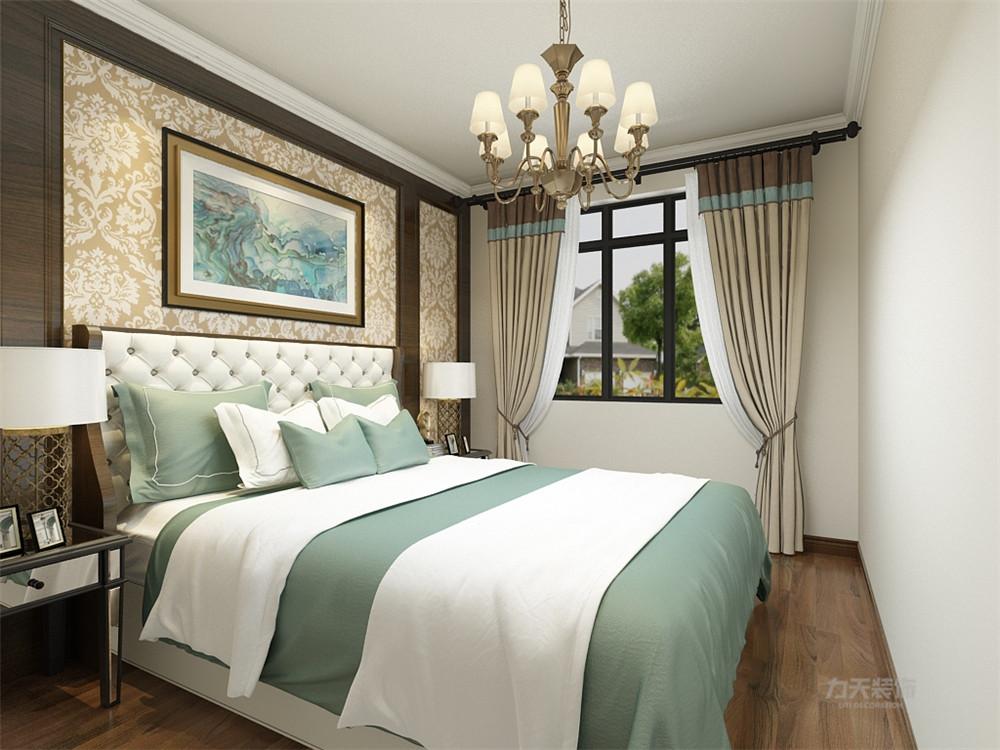 简美 美式 二居 收纳 小资 卧室图片来自阳光放扉er在力天装饰-万德花园-152㎡-简美的分享