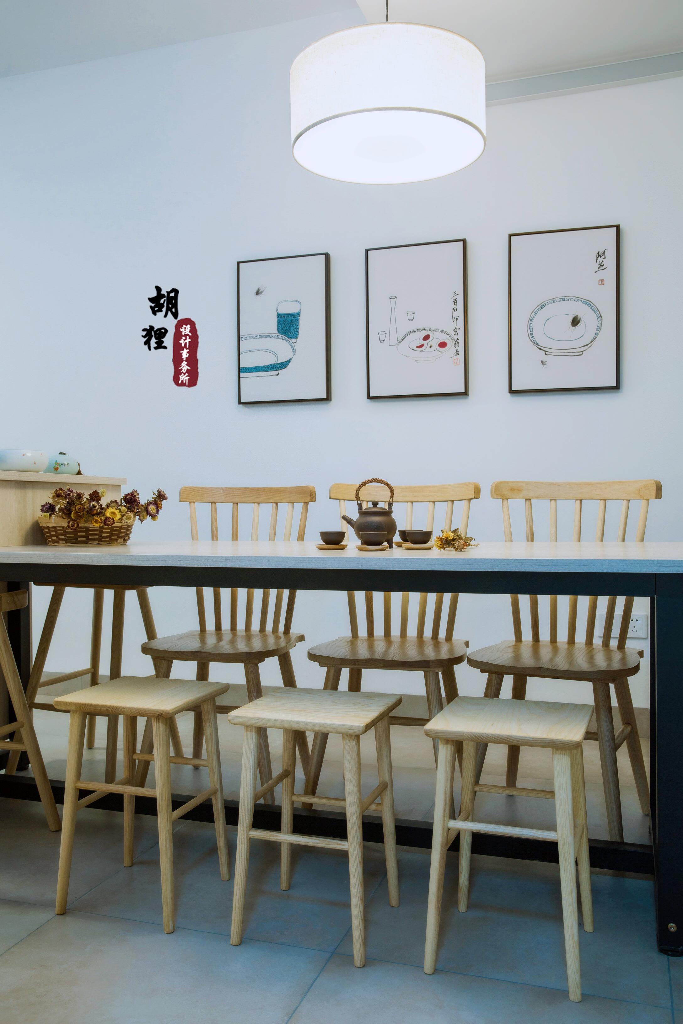 江南风 餐厅图片来自设计师胡狸在此心安处的分享