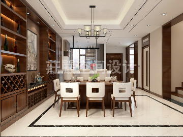 烟台国际公馆别墅设计