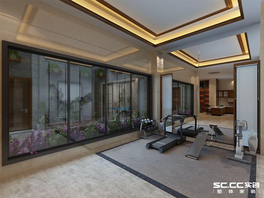 万科 青岛小镇 别墅装修 美式 客厅图片来自快乐彩在万科青岛小镇324平美式装修设计的分享