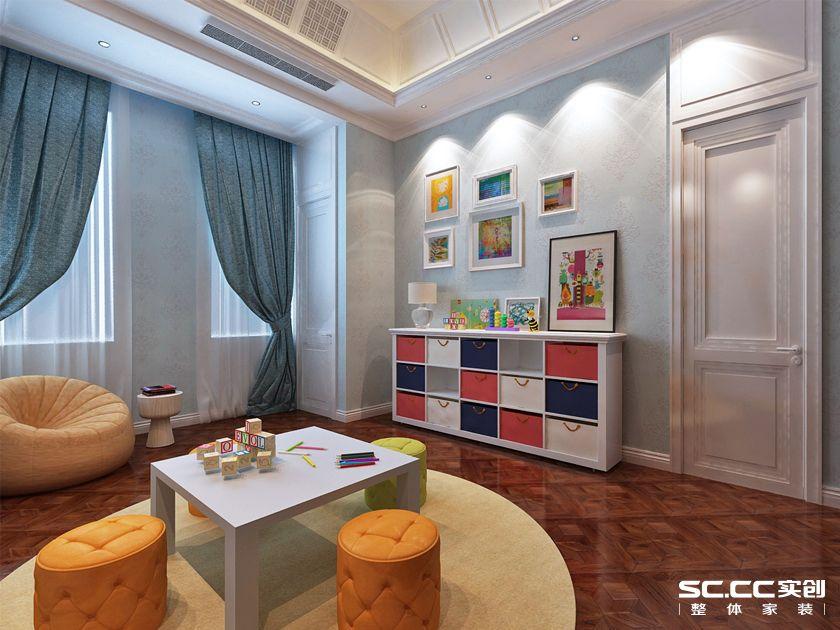 万科 青岛小镇 别墅装修 美式 卧室图片来自快乐彩在万科青岛小镇324平美式装修设计的分享
