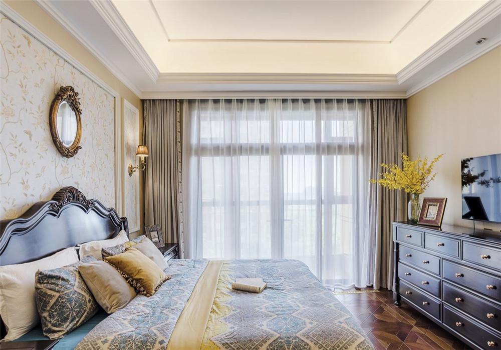 卧室图片来自青岛业之峰装饰--小娟在晓港名城五期169㎡美式风格的分享