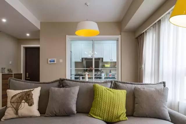 客厅图片来自金空间装饰集团在汇金城  暖暖北欧风的分享