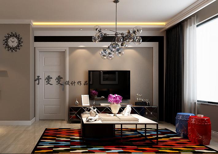 百家装饰 现代风格 沈阳装修 保利达 客厅图片来自百家装饰--小莹在百家装饰-保利达江湾城 现代风格的分享