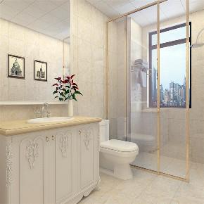 简约 现代 三居 收纳 小资 卫生间图片来自阳光放扉er在力天装饰-笼驻-140㎡-欧式风格的分享