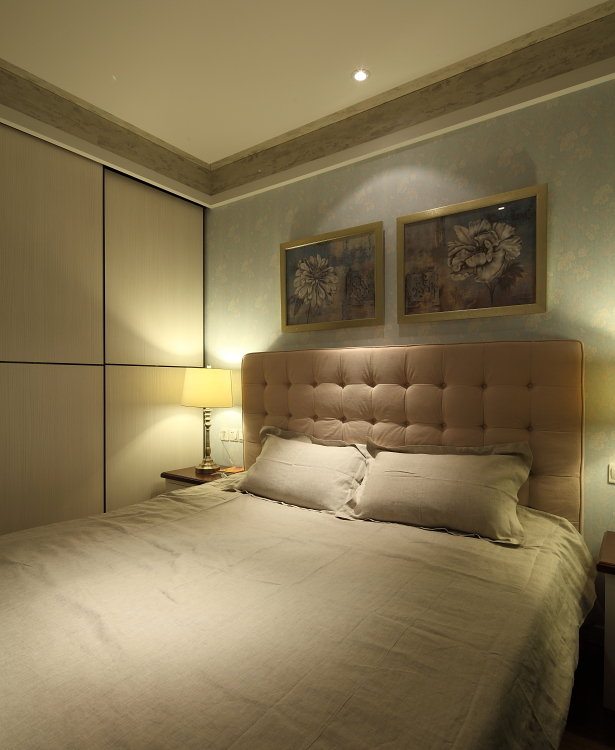 融景城样板 样板间 北欧 重庆唐卡 唐卡装饰 唐卡样板间 卧室图片来自黄丑丑99在融景城——北欧的分享