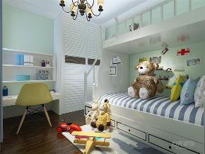 美式风格 美式 二居 收纳 小资 儿童房图片来自阳光放扉er在力天装饰-香雪苑-73㎡- 美式风格的分享