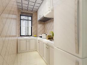 美式风格 美式 二居 收纳 小资 厨房图片来自阳光放扉er在力天装饰-香雪苑-73㎡- 美式风格的分享