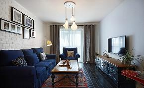 混搭 地中海 二居 白领 收纳 80后 小资 简约 客厅图片来自众意装饰 李潇在太奥广场地中海混搭风格的分享