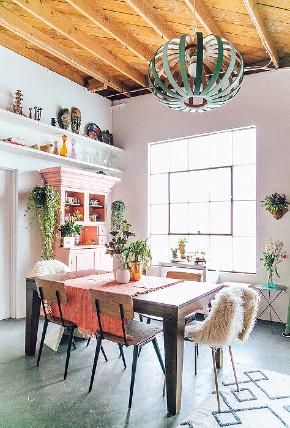 北欧 简约 三居 白领 80后 小资 餐厅图片来自众意装饰 李潇在北欧风格客厅设计的分享