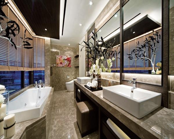 卫生间图片来自我是小样在国熙台三室两厅两卫167平现代的分享