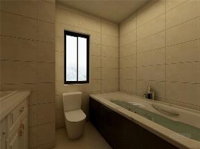 简约 现代 二居 收纳 小资 卫生间图片来自阳光放扉er在力天装饰-远洋城-130㎡-现代风格的分享