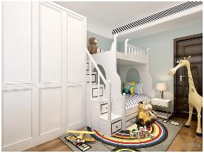 新中式 中式 二居 收纳 小资 儿童房图片来自阳光放扉er在力天装饰-德贤公馆-120㎡-中式1的分享