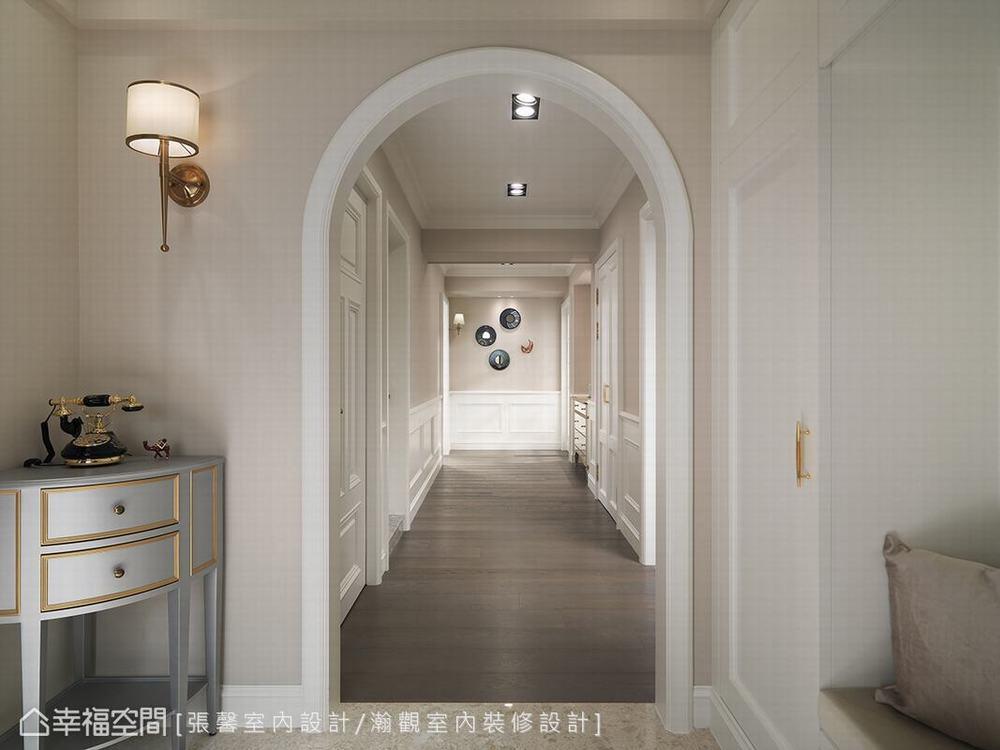 二居 美式 玄关图片来自幸福空间在承载记忆 诉说135平优雅美式生活的分享