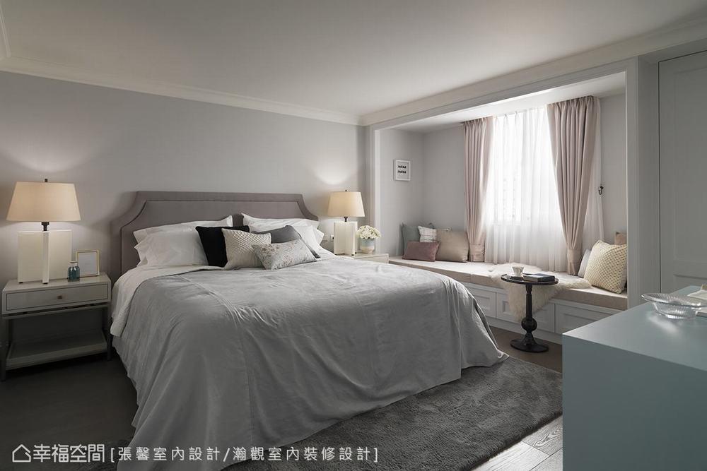 二居 美式 卧室图片来自幸福空间在承载记忆 诉说135平优雅美式生活的分享
