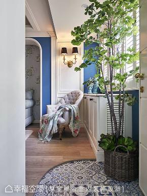 三居 田园 玄关图片来自幸福空间在阳光灿烂 132平蓝白色梦幻乡居的分享