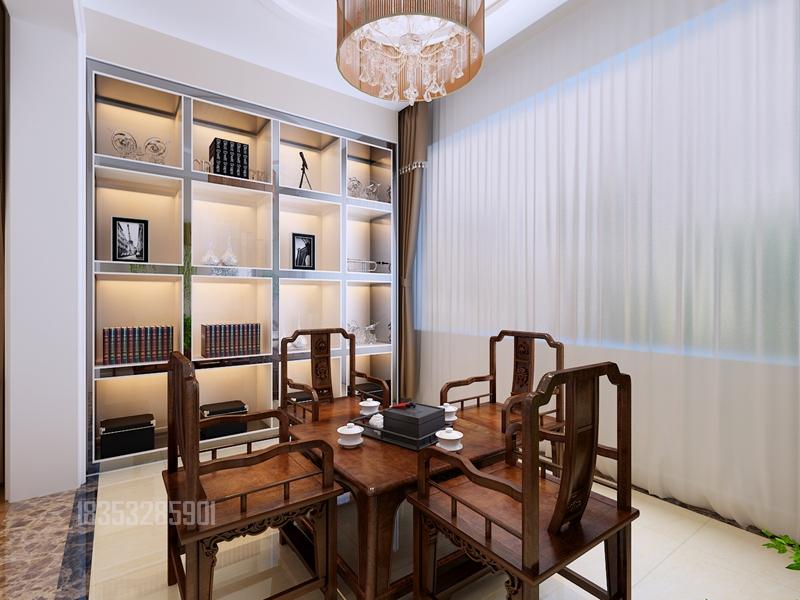 帕提欧小镇 实创装饰 青岛装修 170平装修 餐厅图片来自实创装饰集团青岛公司在帕提欧小镇一楼+地下170平装修的分享