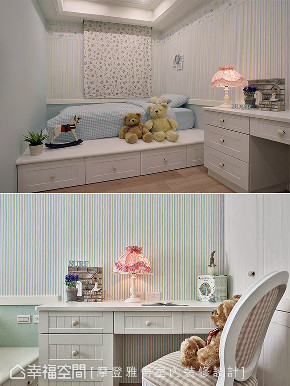三居 田园 儿童房图片来自幸福空间在阳光灿烂 132平蓝白色梦幻乡居的分享