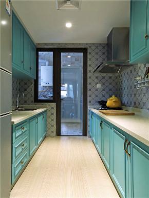 美式 三居 四居 大户型 80后 小资 白领 厨房图片来自高度国际姚吉智在160平米简约美式温和安静小资范的分享