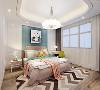 女儿房的主色调同样以白色和浅咖色为主,局部运用粉色点缀,地板同样选择和主卧相同的材质和颜色,床头背景方面选择了符合孩子年龄的卡通挂画。并且搭配了和环境相搭的浅色学习桌,方便平时的学习和阅读。