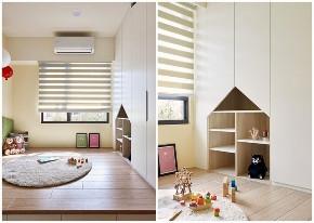 简约 北欧 三居 收纳 旧房改造 儿童房图片来自今朝装饰张智慧在117平自然北欧风三居,简洁大气的分享