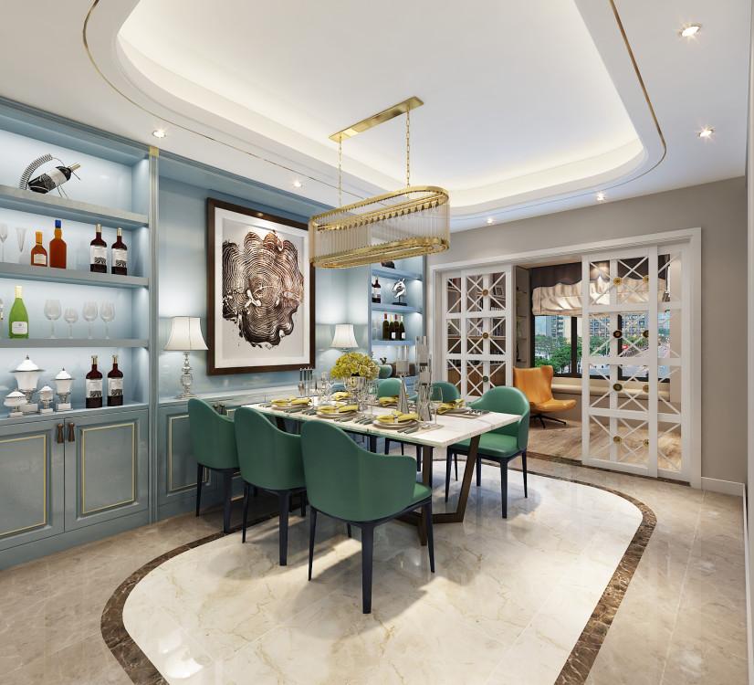 餐厅图片来自业之峰装饰旗舰店在温馨典雅的分享
