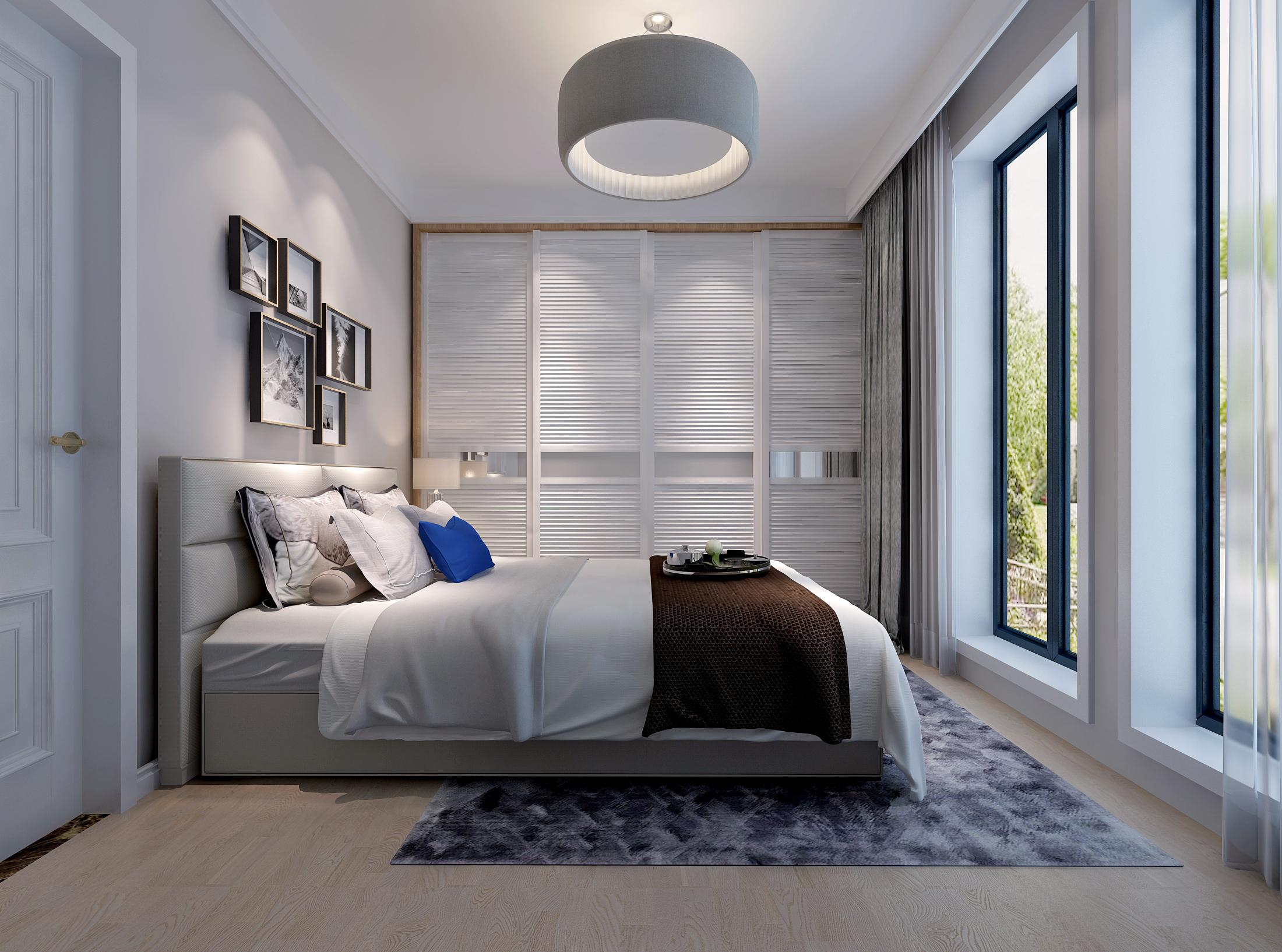 卧室图片来自业之峰装饰旗舰店在原木雅居的分享