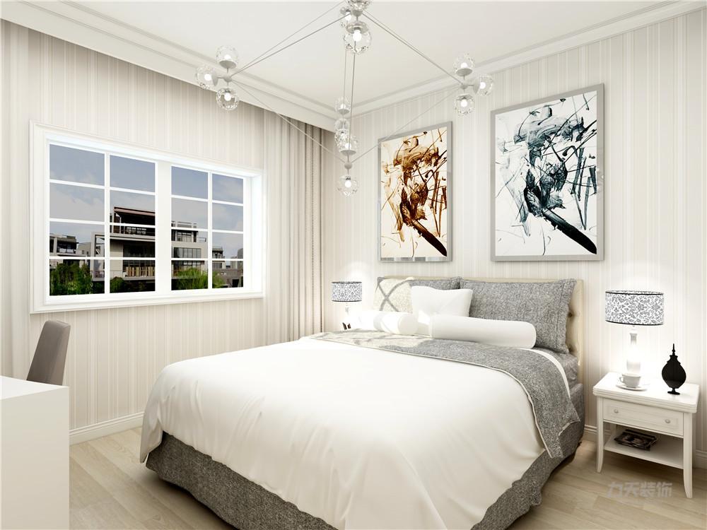简约 现代 三居 小资 白领 卧室图片来自阳光放扉er在力天装饰-路劲太阳城 -130㎡的分享