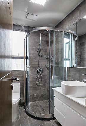 现代 二居 80后 卫生间图片来自家装大管家在简单而明亮 85平现代雅致舒适居的分享
