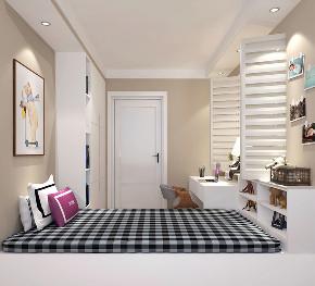 简约 混搭 二居 白领 收纳 80后 小资 儿童房图片来自圣奇凯尚室内设计工作室在圣奇凯尚装饰-简欧风格的分享