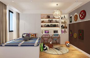 简约 混搭 三居 白领 80后 小资 儿童房图片来自林上淮·圣奇凯尚装饰在北欧风格四口之家的分享