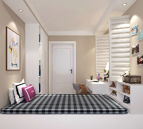 简约 欧式 混搭 二居 白领 收纳 80后 小资 儿童房图片来自林上淮·圣奇凯尚装饰在简欧风格小居室的分享