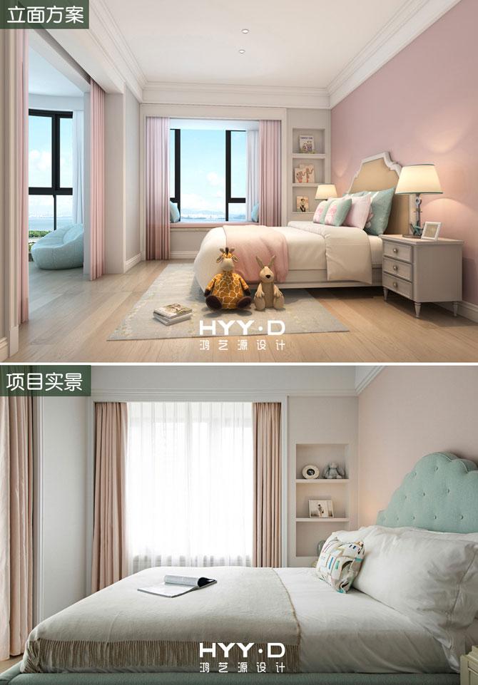 时尚简美 别墅 效果图 儿童房图片来自郑鸿在黎光海韵--深圳翡翠海岸室内设计的分享