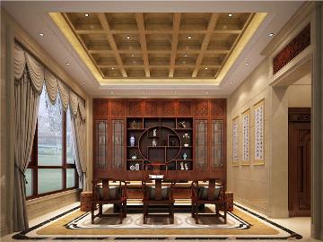 中式,1200平方,自建别墅