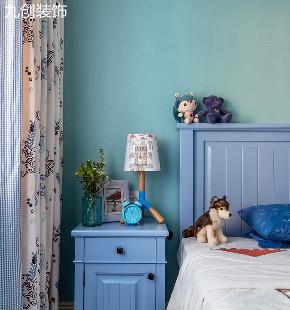 现代简美 三居 温馨 大气 天然 卧室图片来自九创装饰集团成都分公司在橡树湾B区 125 简美的分享