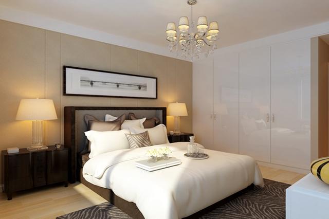 新中式 卧室图片来自峰光无限装饰大鹏在中建昆明澜庭160㎡新中式风格的分享